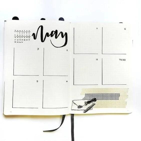 50+ Bullet Journal Weekly Spread Ideas 30