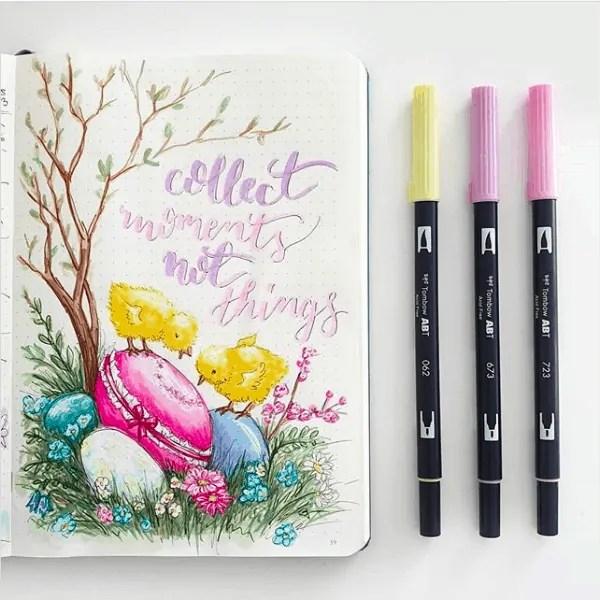 Easter Bullet Journal Idea