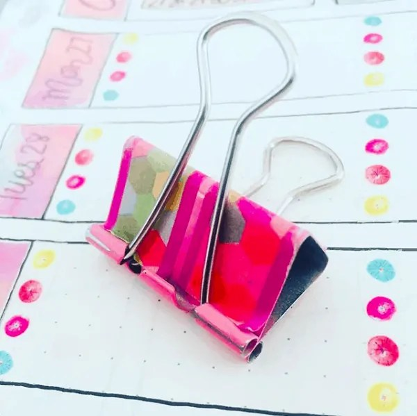 Bullet Journal Washi Tape Idea
