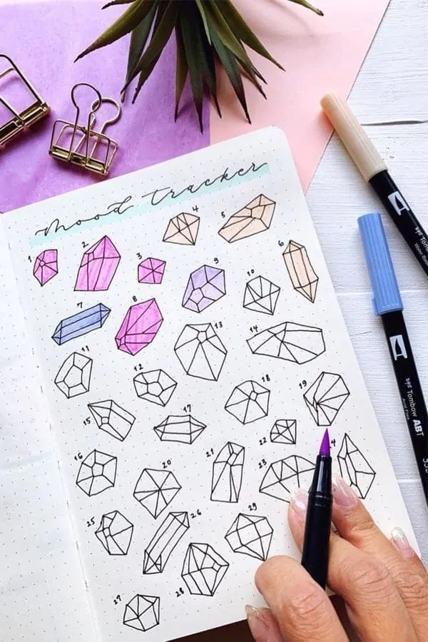 Bullet Journal Mood Tracker Ideas 3