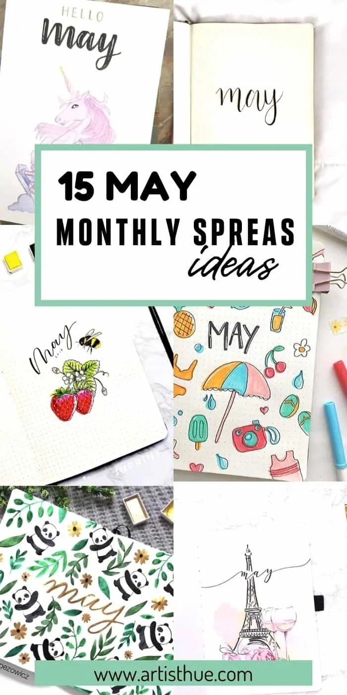 Bullet Journal May Ideas 25