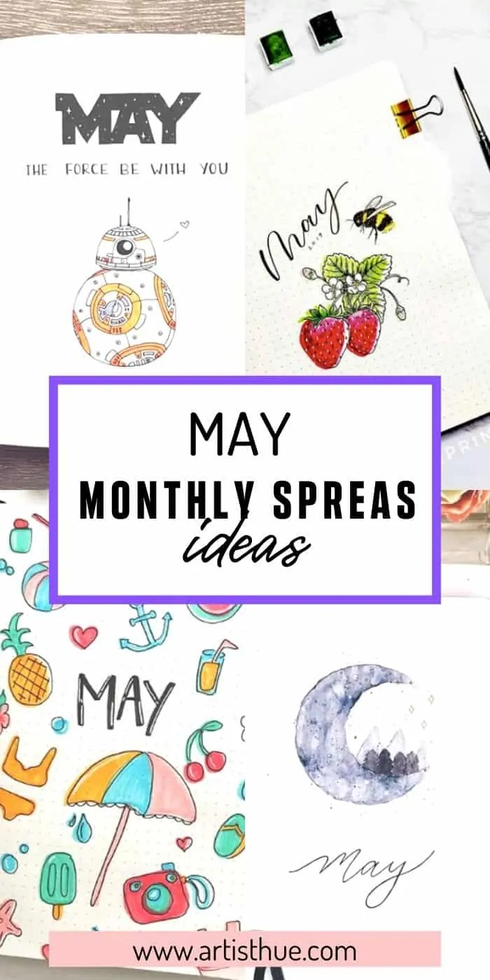 Bullet Journal May Ideas 21