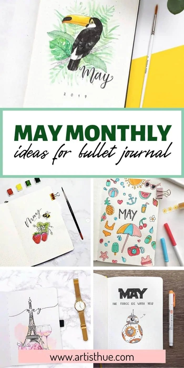 Bullet Journal May Ideas 15