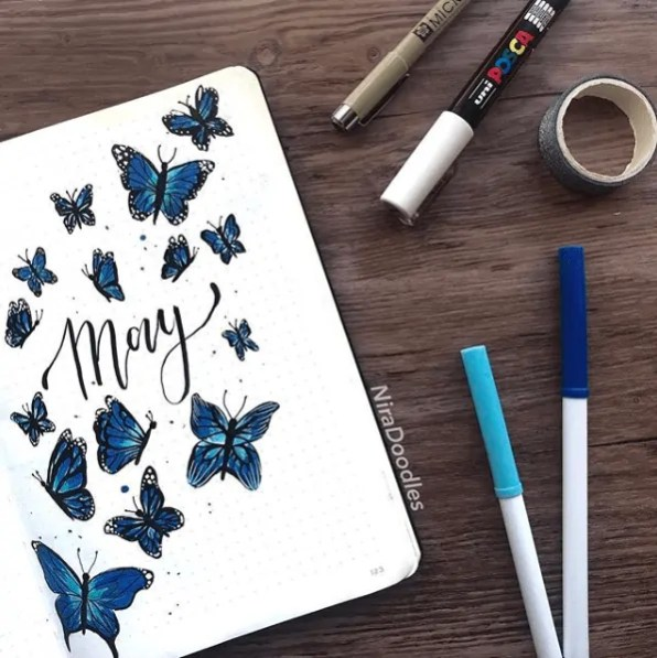 Bullet Journal May Ideas 28