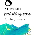 8 Acrylic Painting Tips for Beginner 5