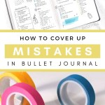 5 Ways to Fix Mistakes in Bullet Journal 17