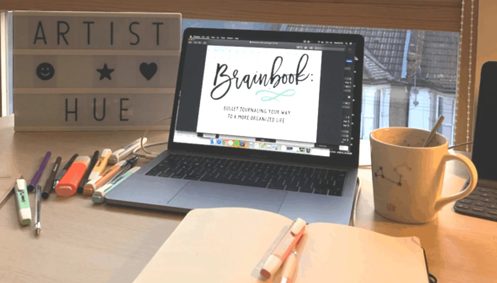 how to set up bullet journal