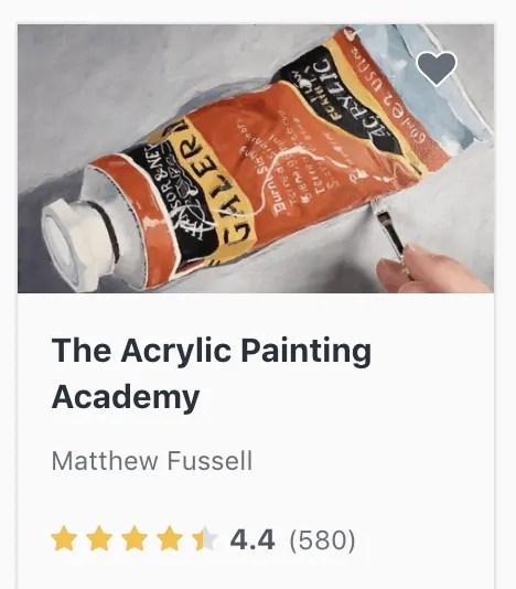 acrylic painting academy