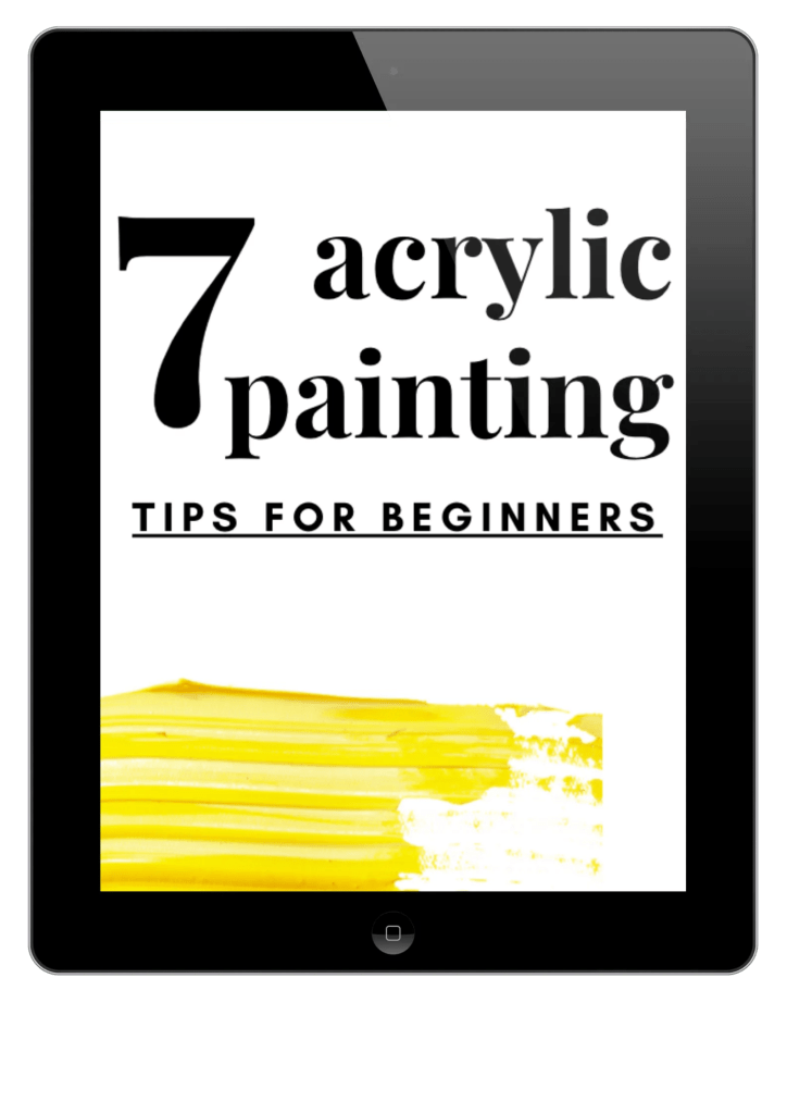 acrylic paint for beginners ebook