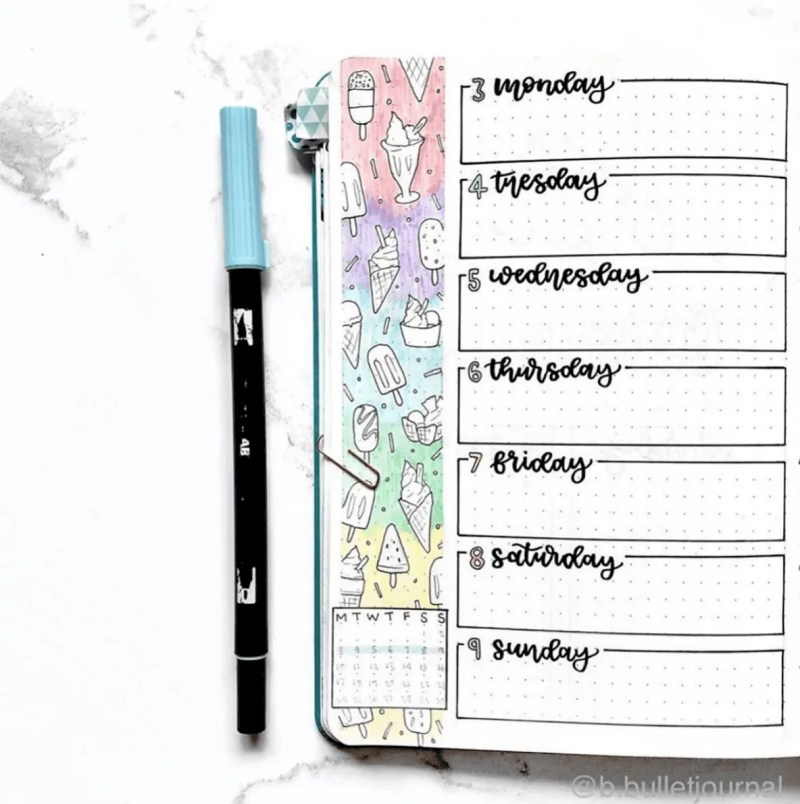 Bullet Journal June: Ideas and Inspiration 40