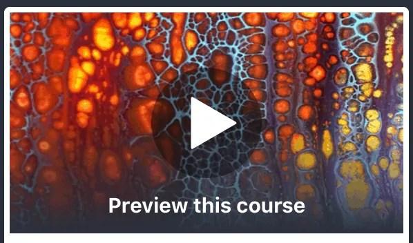 Fluid art: abstract art flow