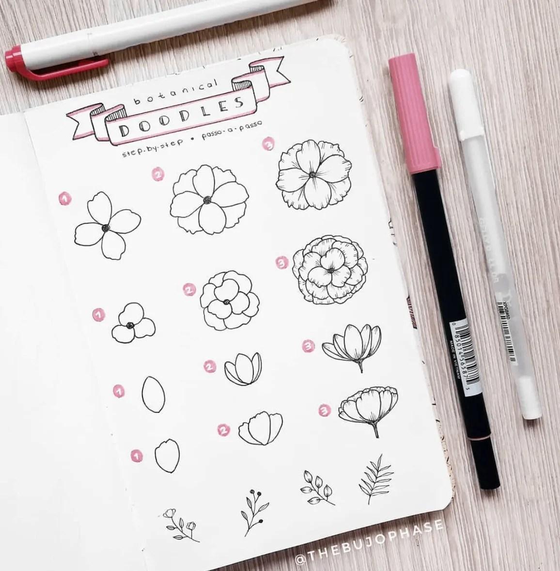botanical doodles