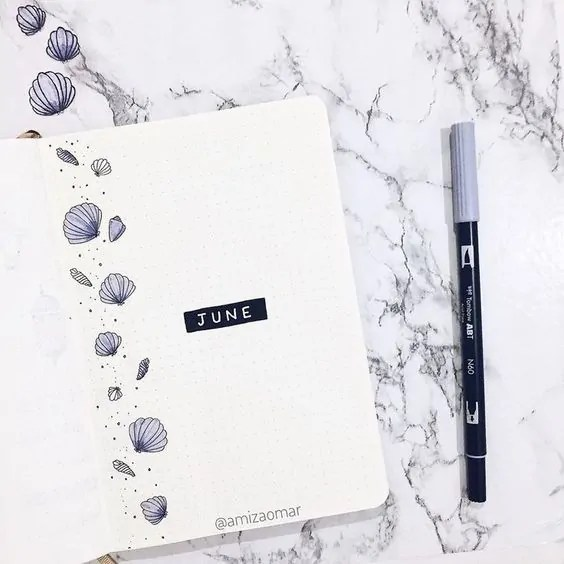 Bullet Journal June: Ideas and Inspiration 50