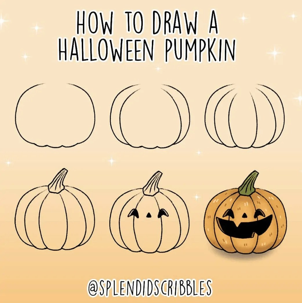 100 Bullet Journal Fall Doodles Halloween Ideas 11