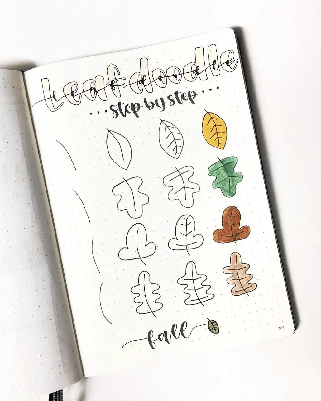 100 Bullet Journal Fall Doodles Halloween Ideas 25