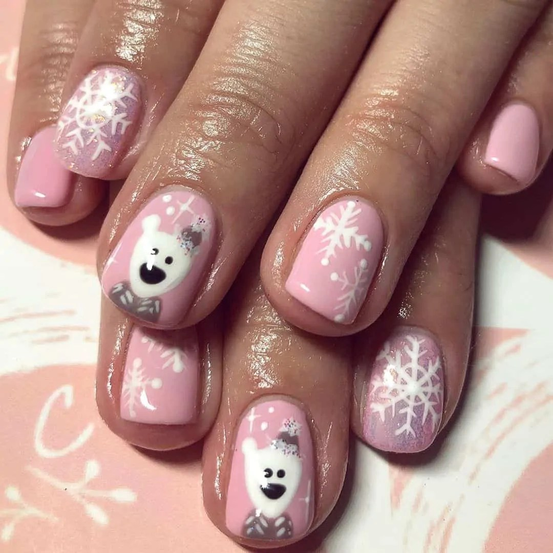 15+ Christmas Nail Ideas You Must See! 57
