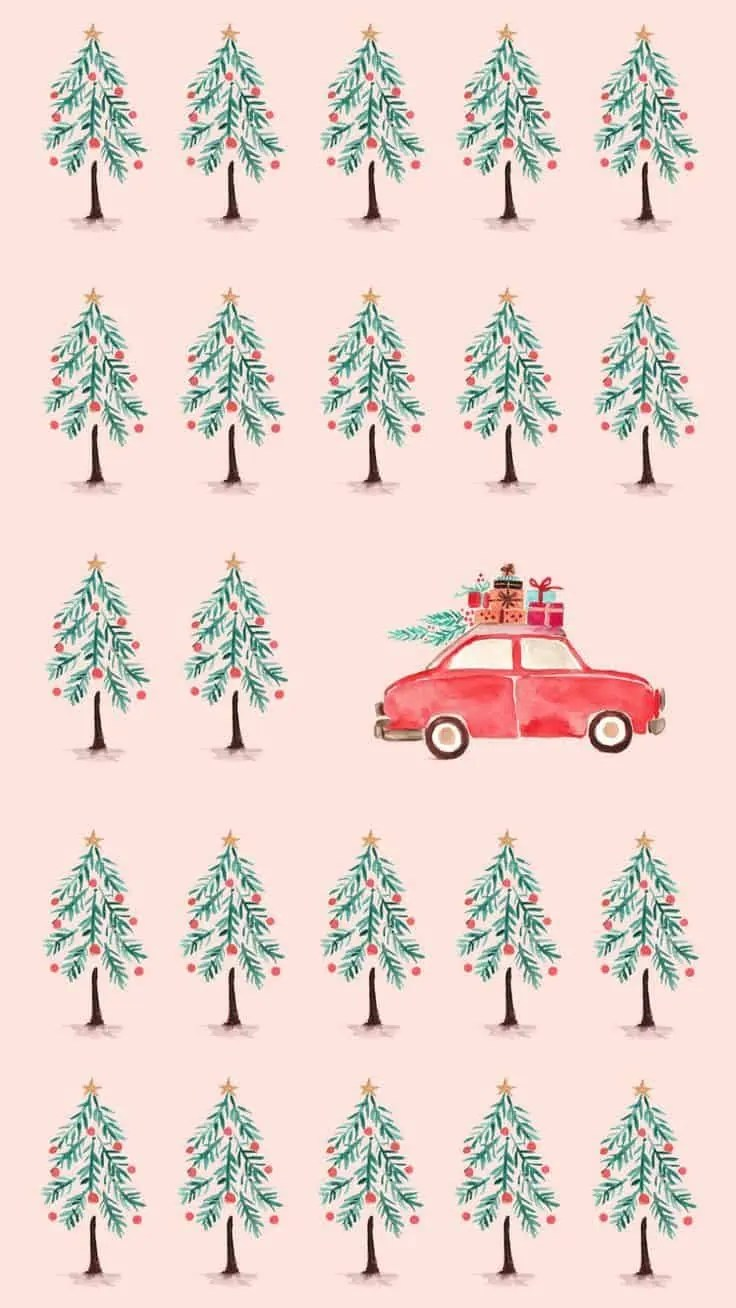 21+ Christmas iPhone Wallpapers you must SEE! 95