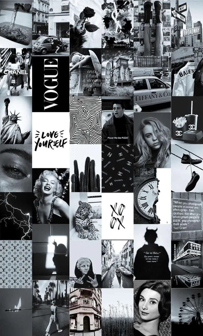 Black-Paris-Aesthetic-Wall-Collage-Kit-Black-and-White-Aesthetic-Collage-Printable-Wall-Art-Downl 5