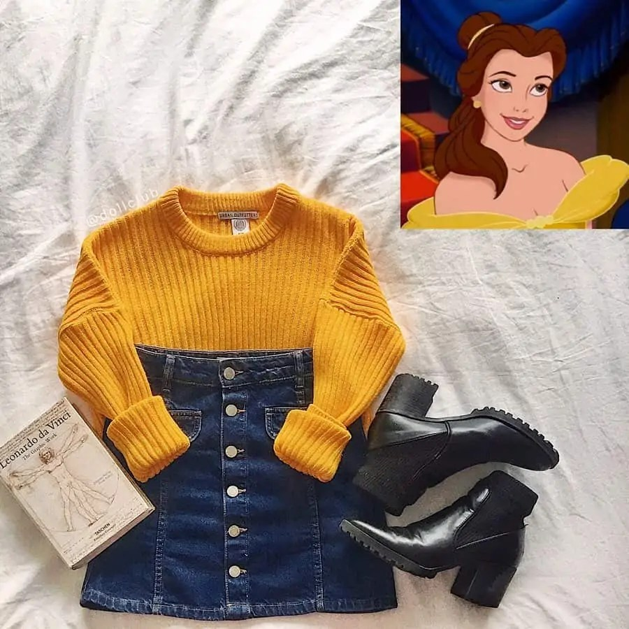 30+ Outfits Inspired by Disney that you have to see! 19
