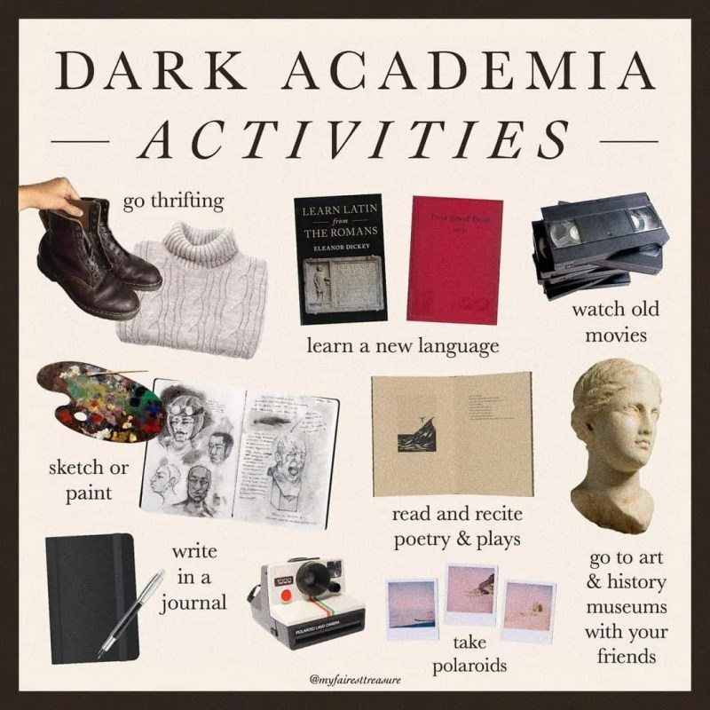 Dark Academia: style, books, and the rest of must-know things! 57