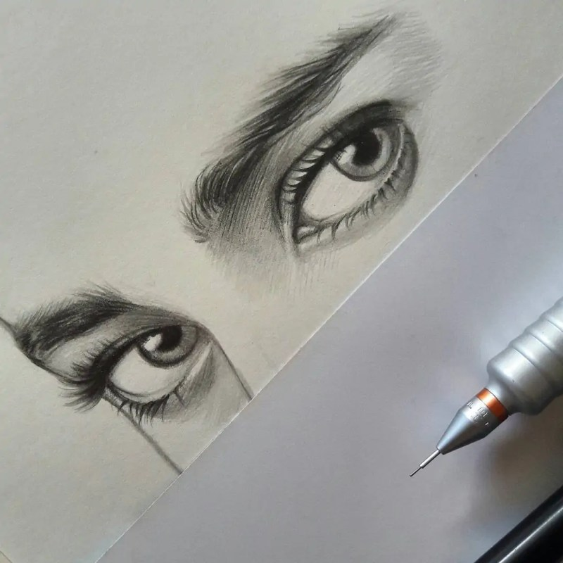 100+ Stunning Realistic Portrait Drawings 1