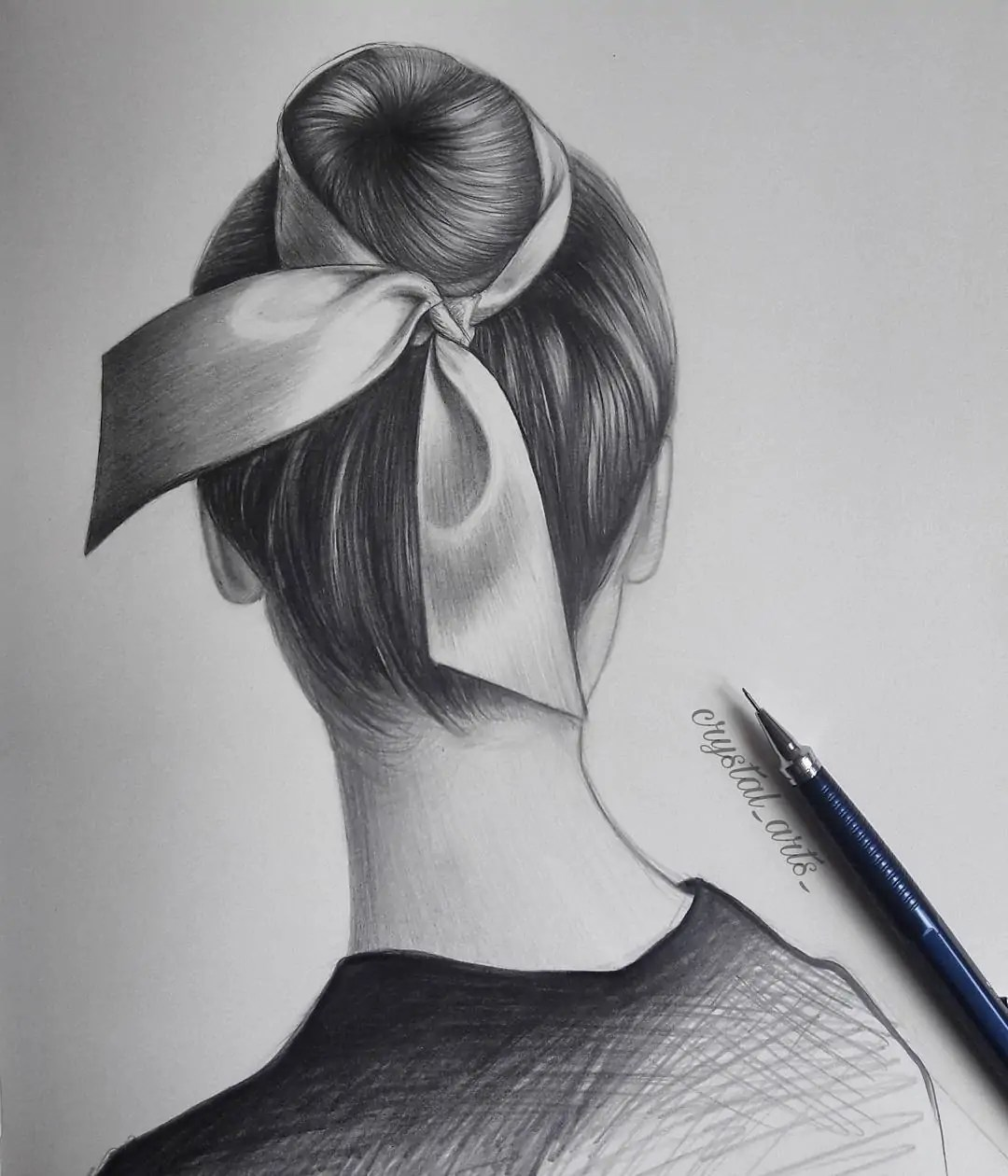 100+ Stunning Realistic Portrait Drawings 339