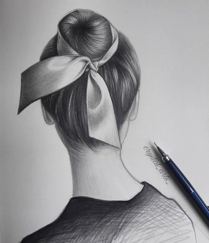 100+ Stunning Realistic Portrait Drawings 149