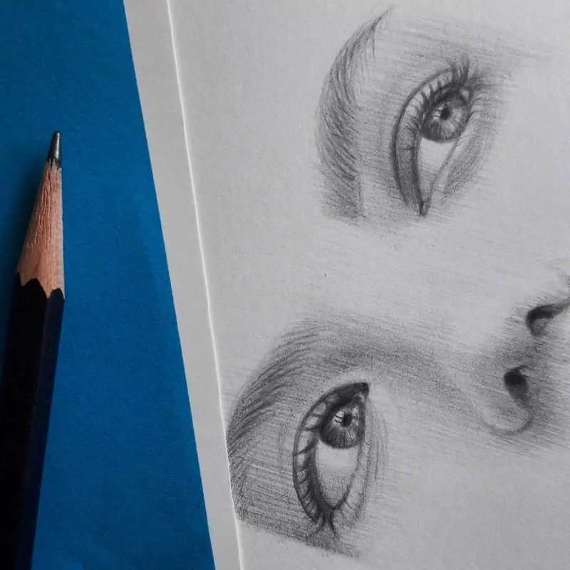 100+ Stunning Realistic Portrait Drawings 133