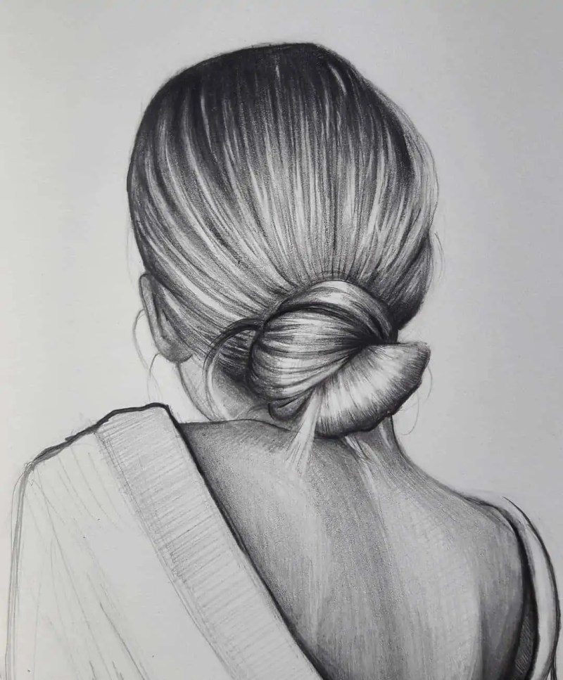100+ Stunning Realistic Portrait Drawings 129