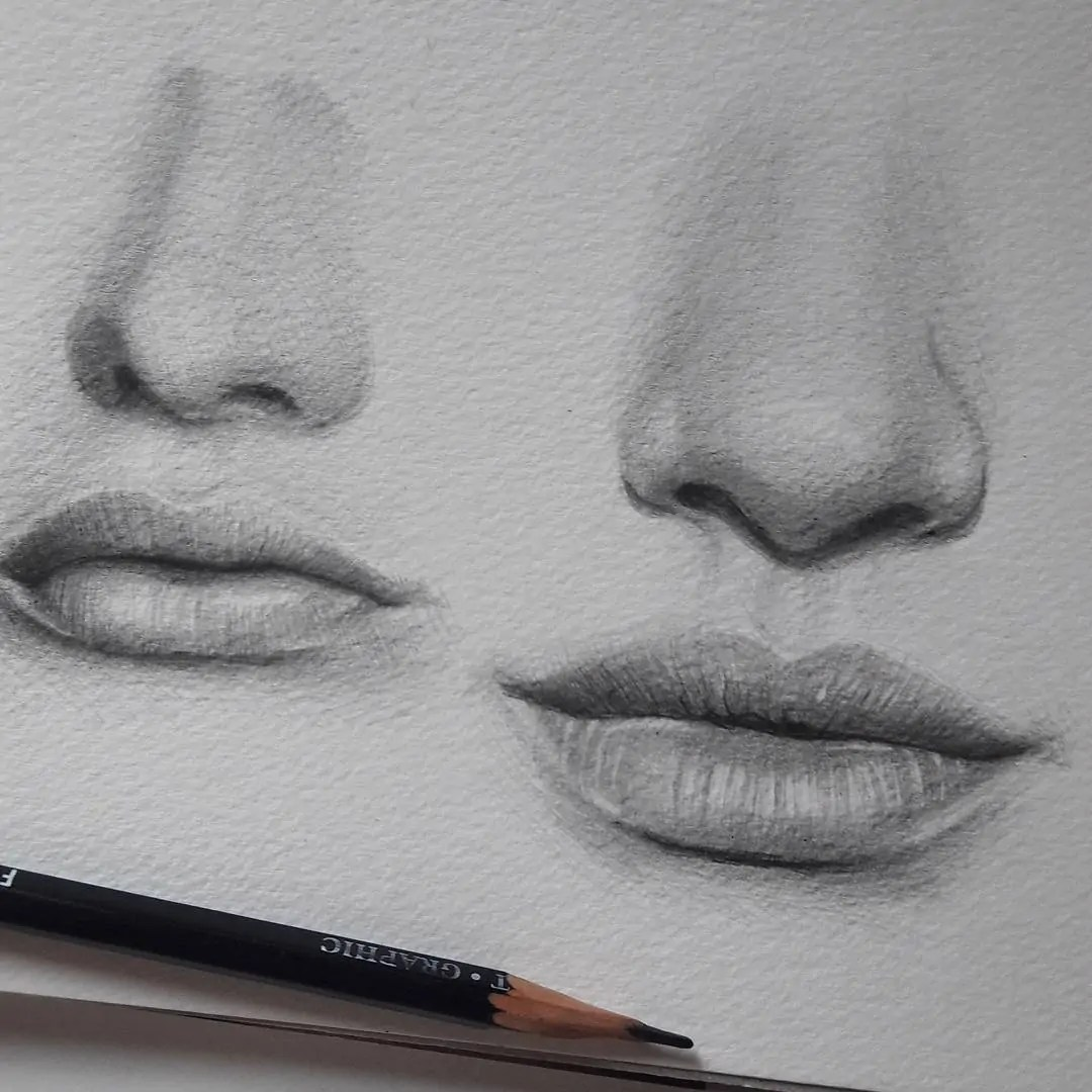 100+ Stunning Realistic Portrait Drawings 301