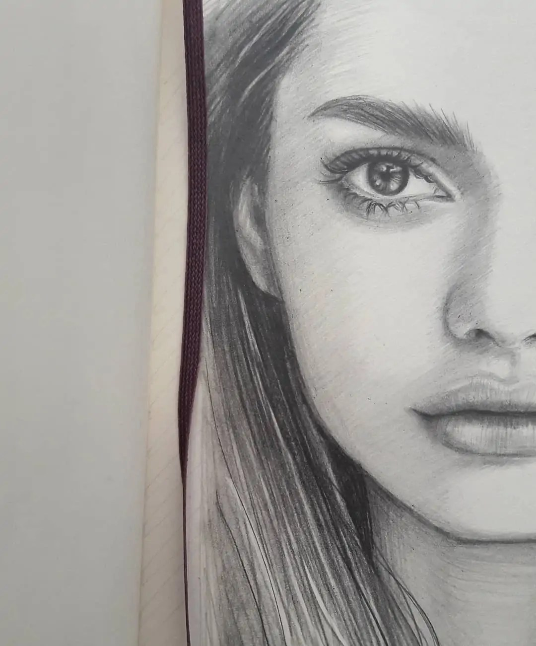100+ Stunning Realistic Portrait Drawings 277