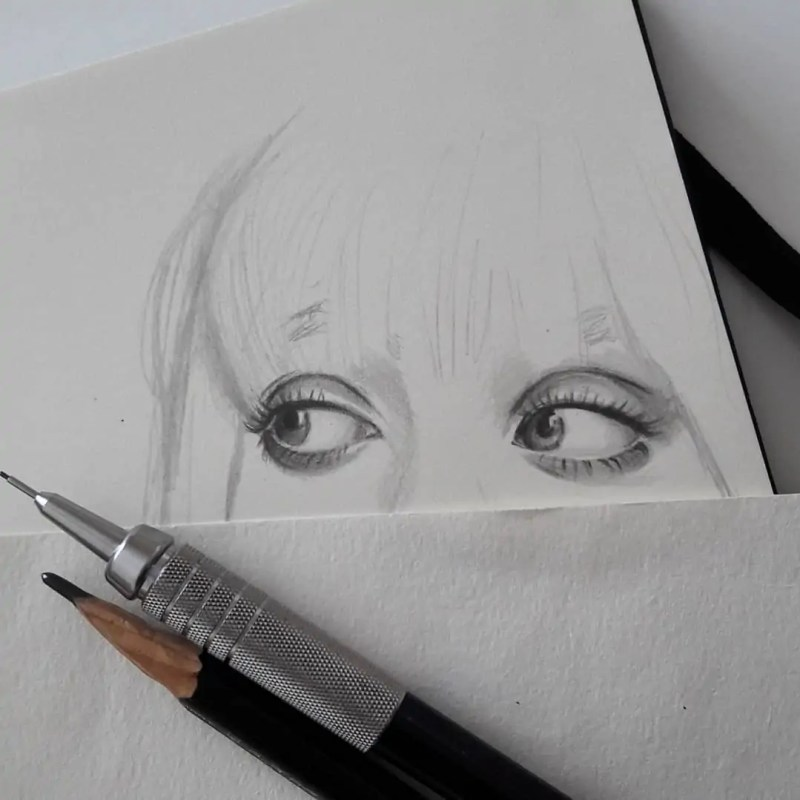100+ Stunning Realistic Portrait Drawings 81