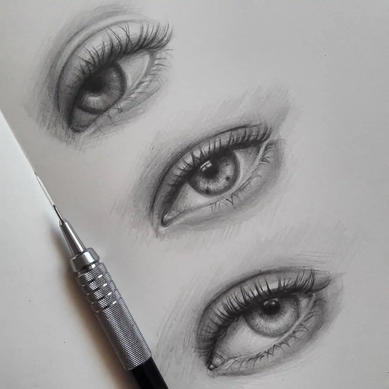 100+ Stunning Realistic Portrait Drawings 73