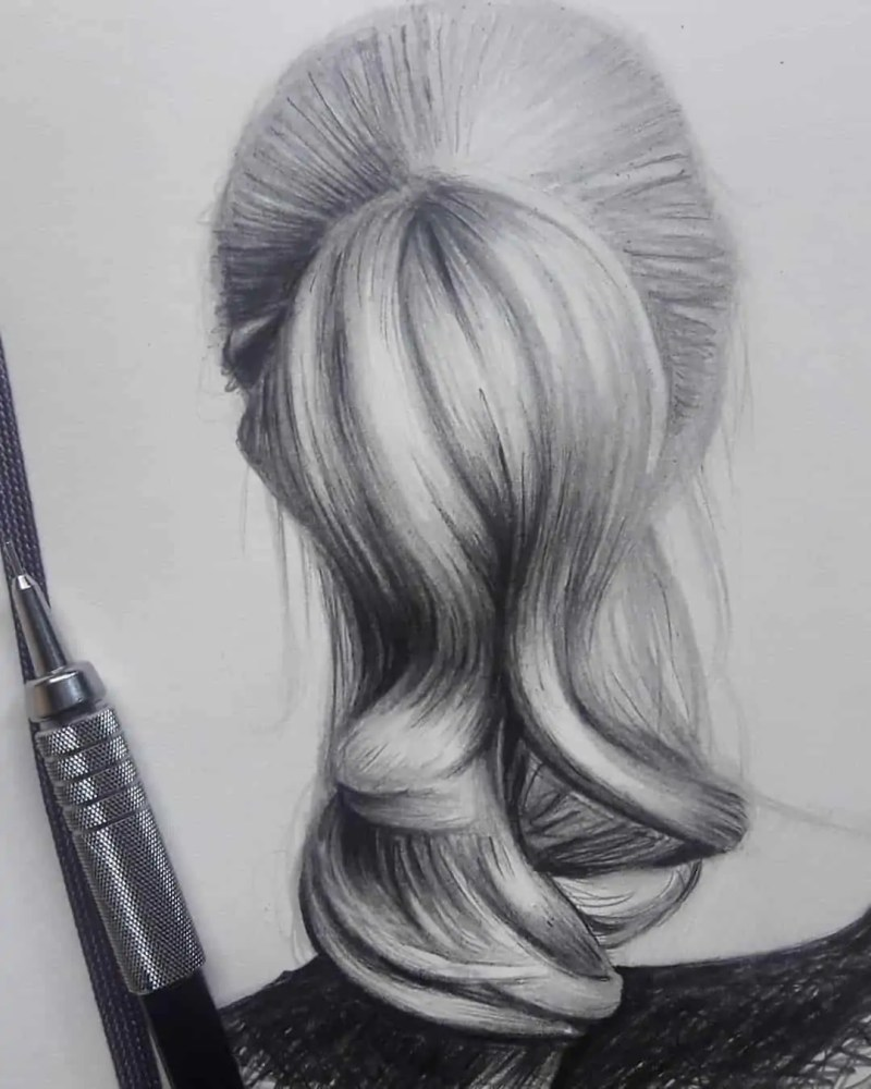 100+ Stunning Realistic Portrait Drawings 63