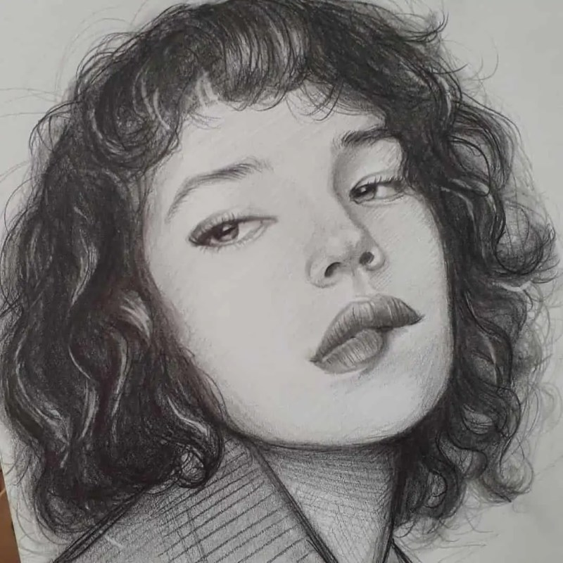 100+ Stunning Realistic Portrait Drawings 39