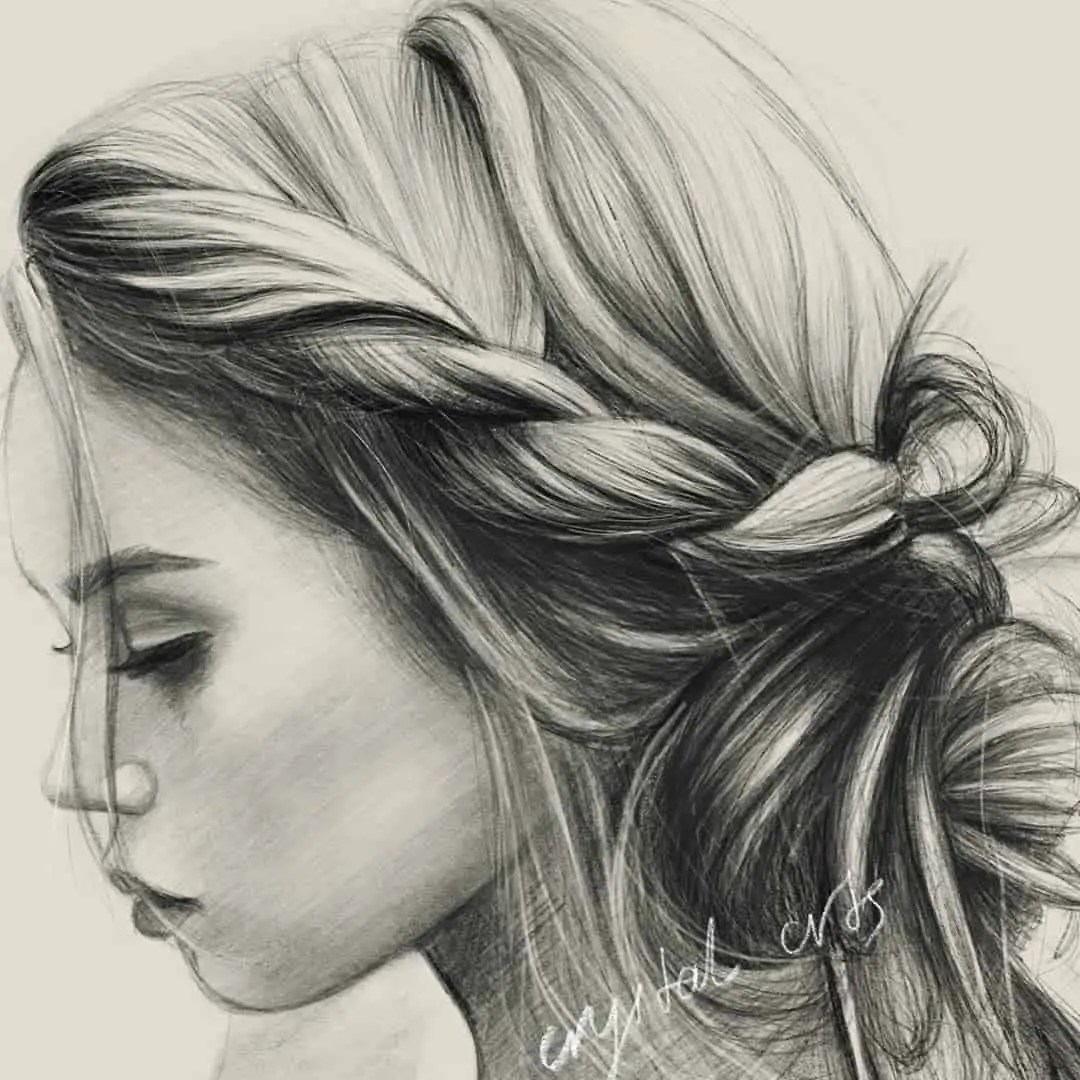 100+ Stunning Realistic Portrait Drawings 223