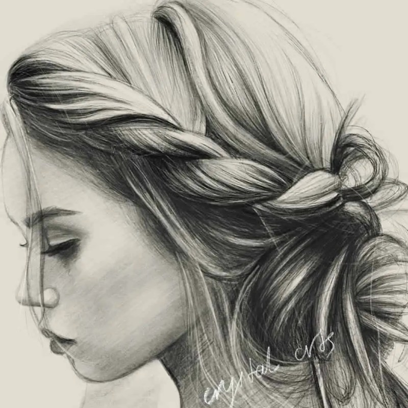 100+ Stunning Realistic Portrait Drawings 33