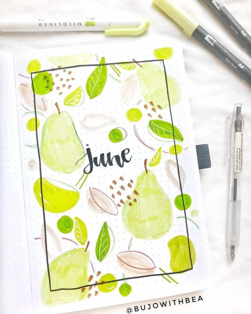 100+ Bullet Journal Ideas that you have to see and copy today! 476