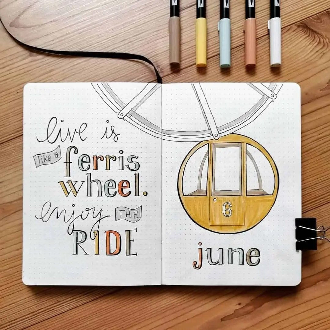 100+ Bullet Journal Ideas that you have to see and copy today! 248