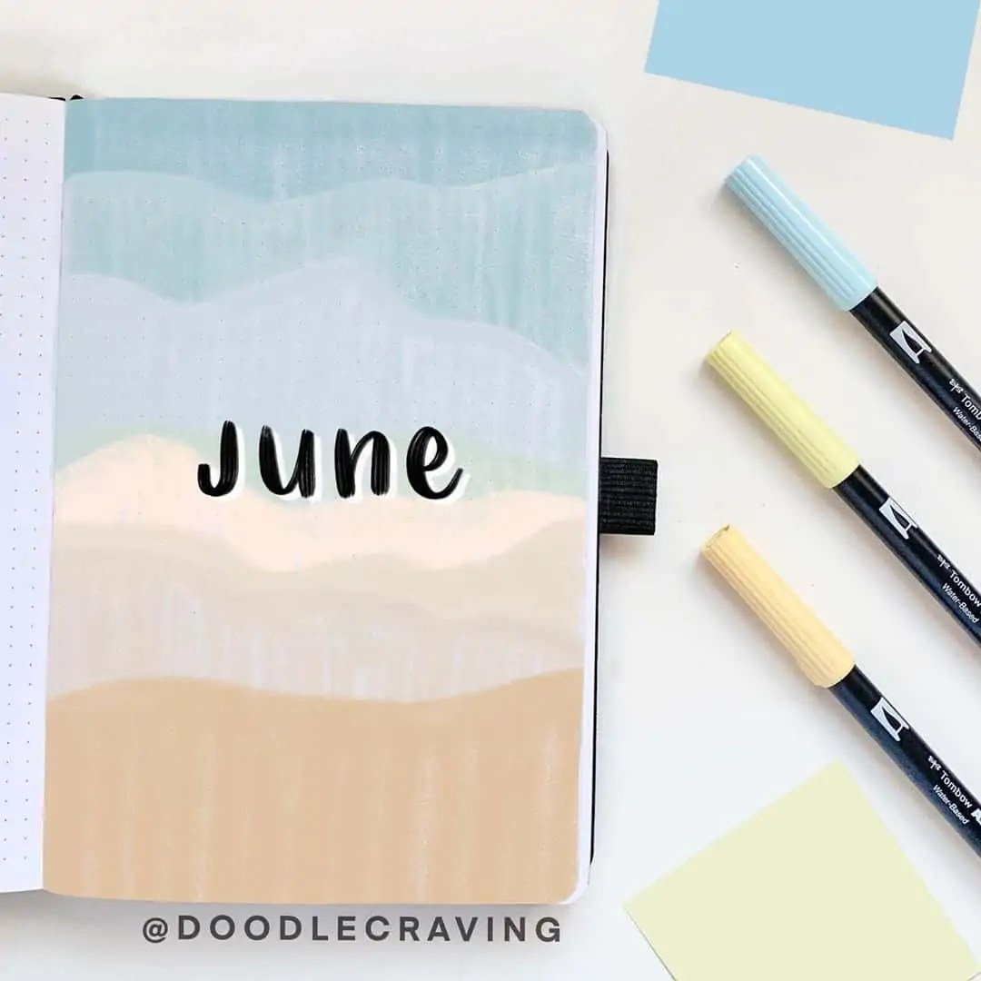 100+ Bullet Journal Ideas that you have to see and copy today! 250