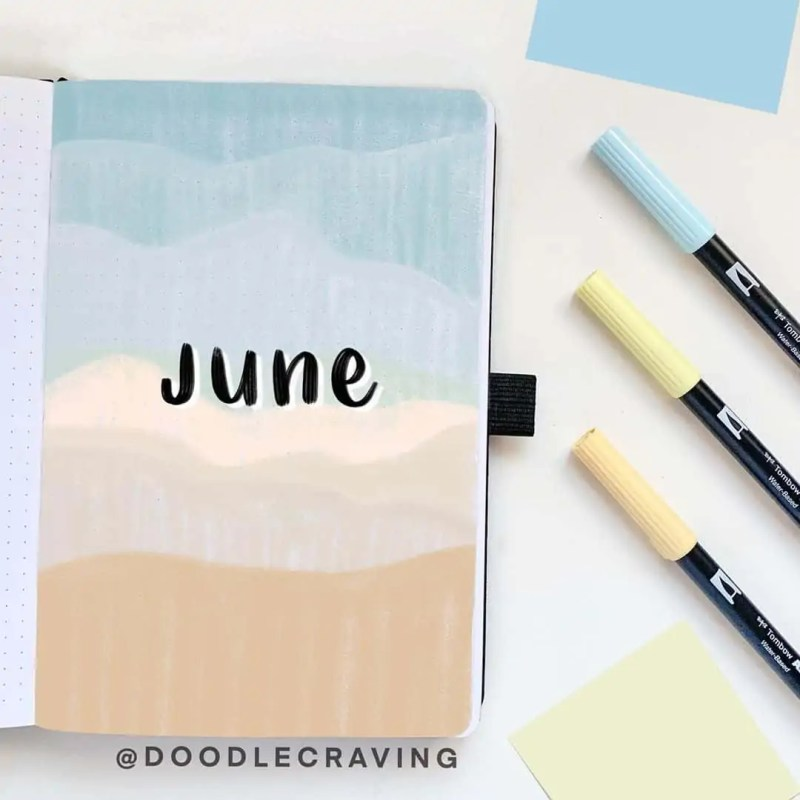 100+ Bullet Journal Ideas that you have to see and copy today! 510