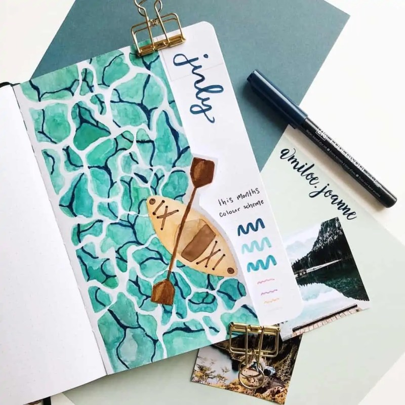 100+ Bullet Journal Ideas that you have to see and copy today! 560