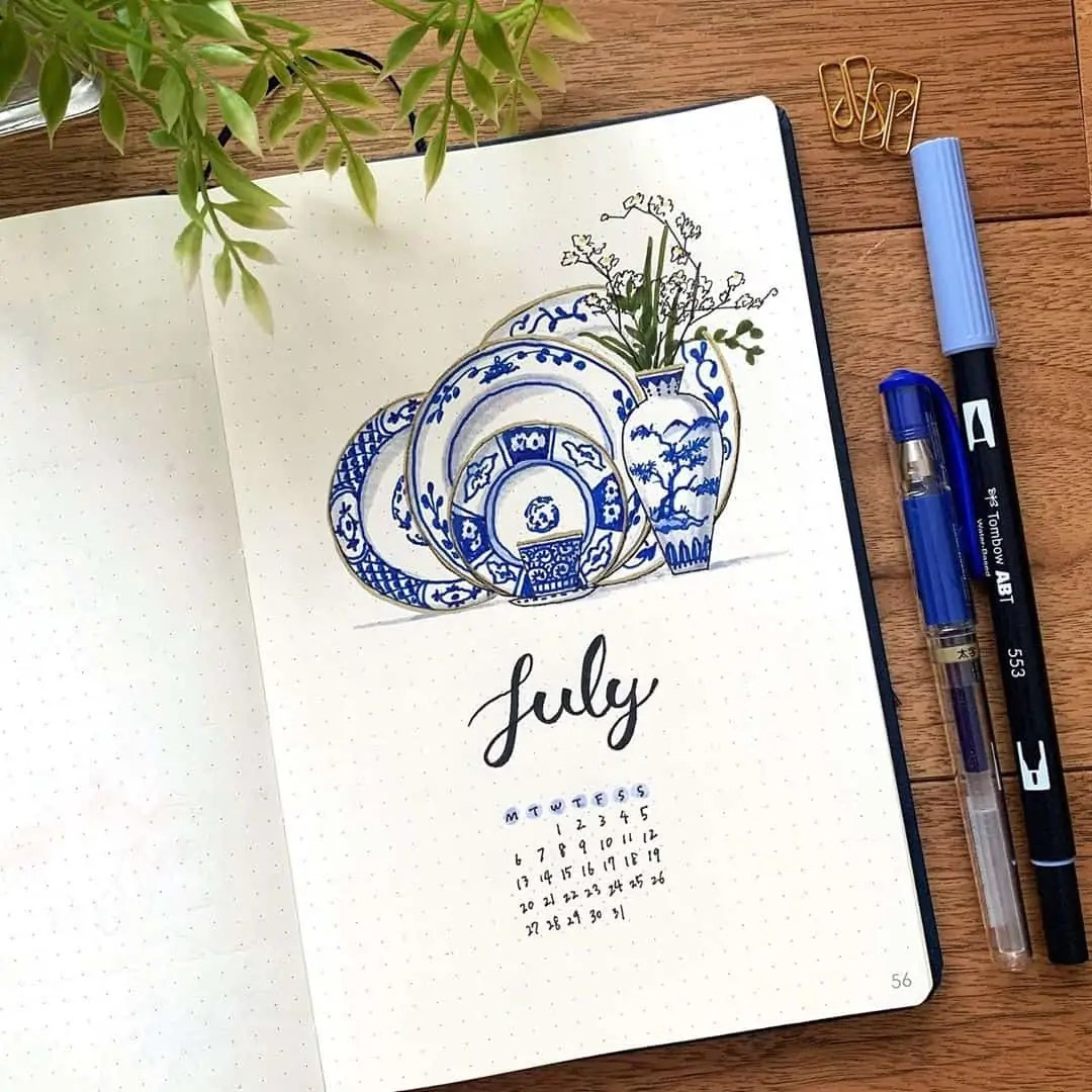 100+ Bullet Journal Ideas that you have to see and copy today! 290