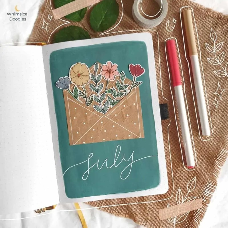 100+ Bullet Journal Ideas that you have to see and copy today! 534