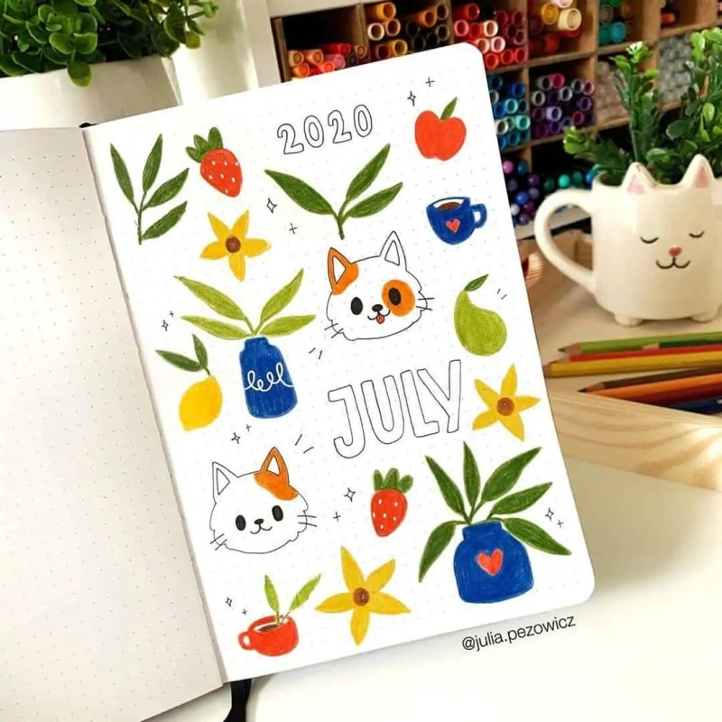 100+ Bullet Journal Ideas that you have to see and copy today! 524