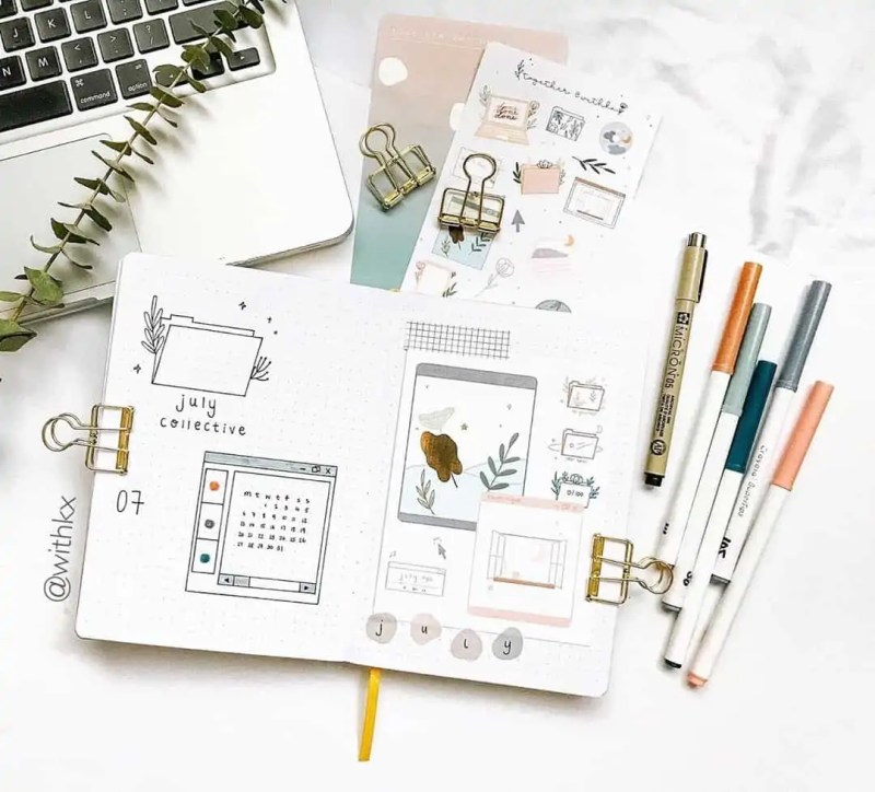 100+ Bullet Journal Ideas that you have to see and copy today! 520