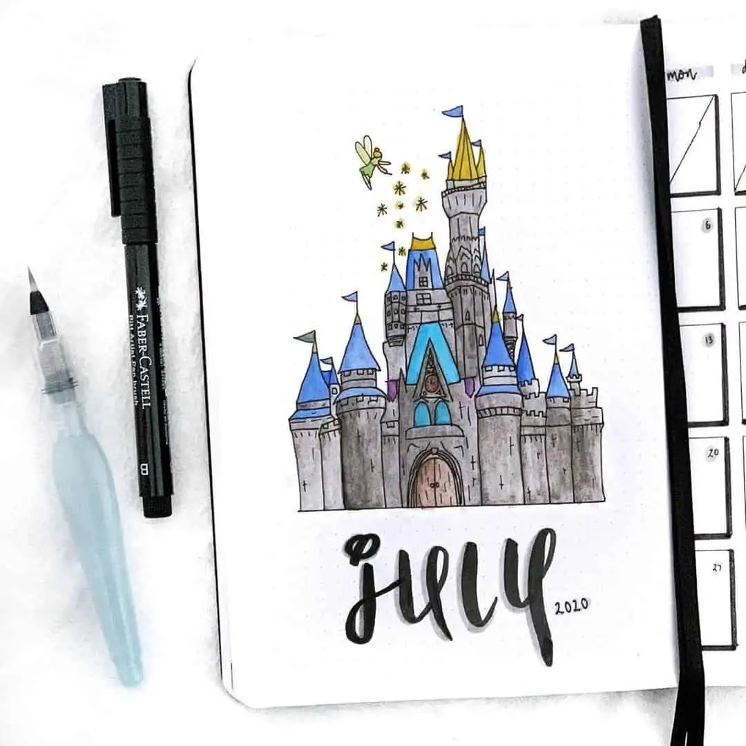 100+ Bullet Journal Ideas that you have to see and copy today! 258