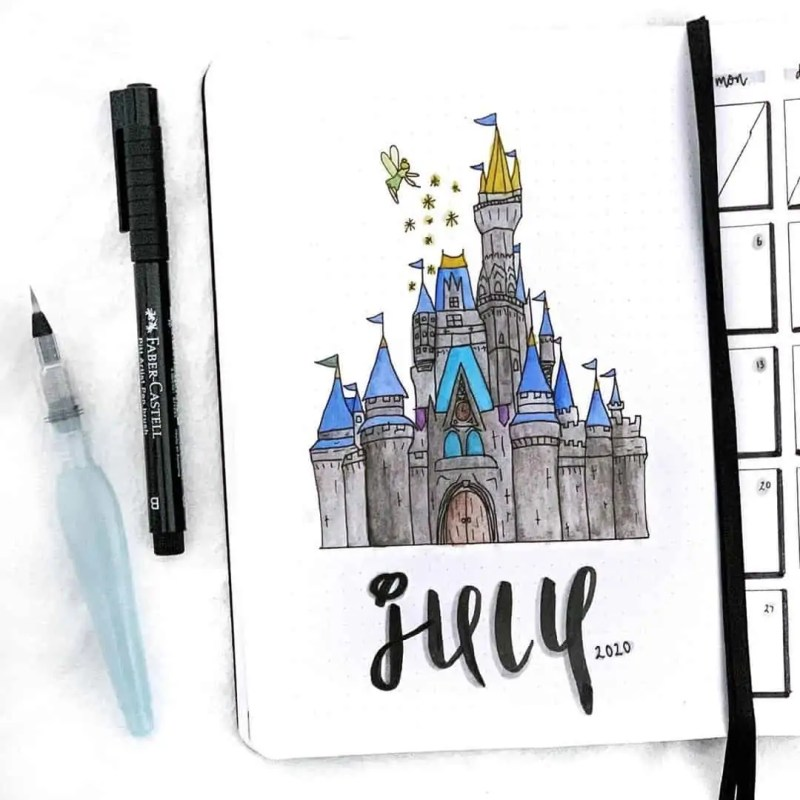 100+ Bullet Journal Ideas that you have to see and copy today! 518