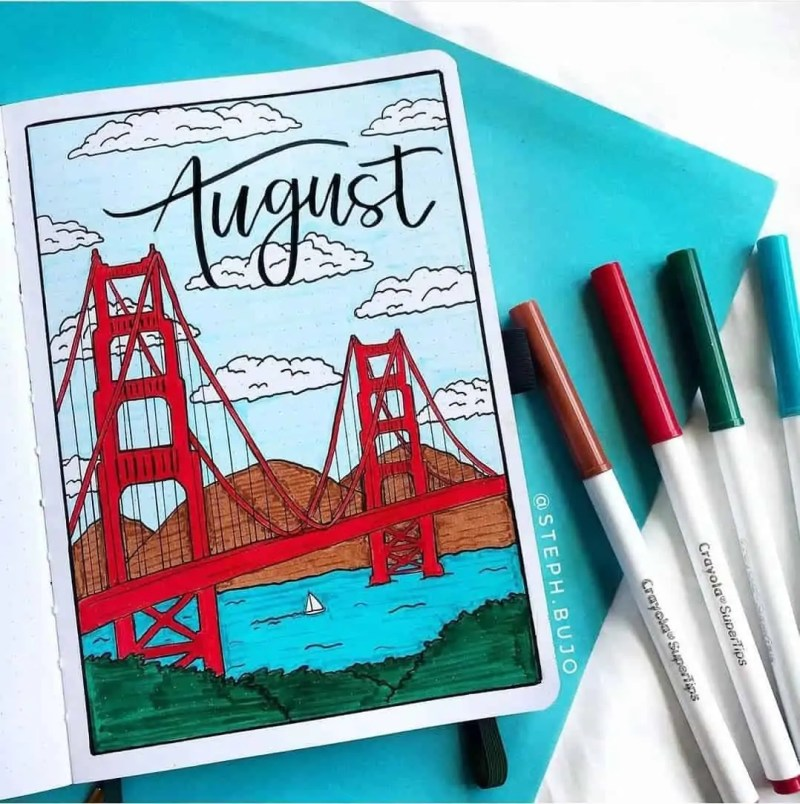 100+ Bullet Journal Ideas that you have to see and copy today! 582