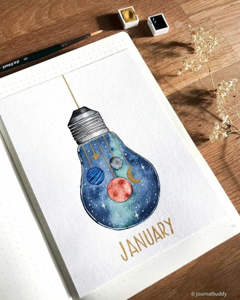 100+ Bullet Journal Ideas that you have to see and copy today! 282